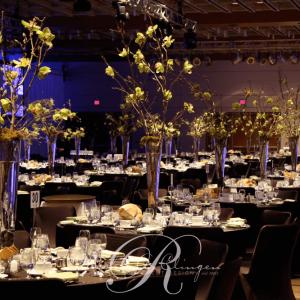 Cherry Blossom Centrepieces for a Toronto Corporate Event