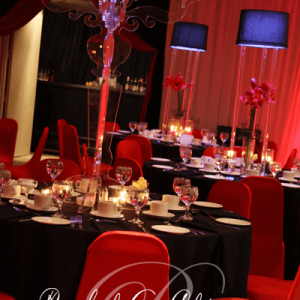 Elegant corporate event decor Toronto.