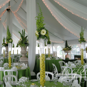 Outdoor corporate tent events and decor, Toronto