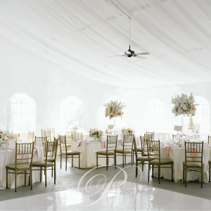Stunning white tent weddings and draping in Toronto