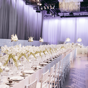 White weddings at the Liberty Grand.
