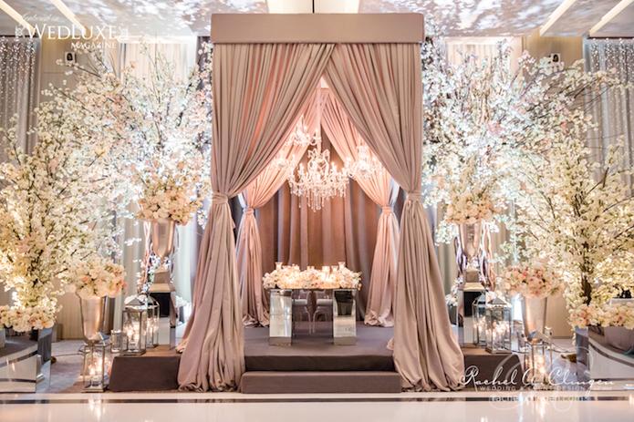 Cherry-Blossom-Wedding-Canopy-Headtable