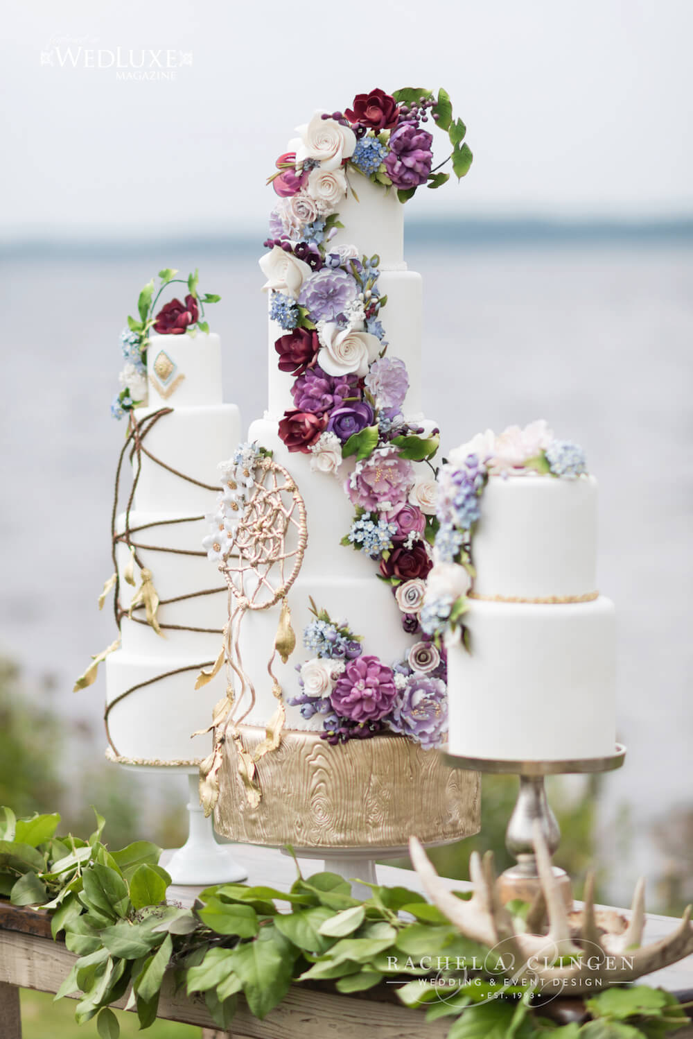 Dream-Catcher-Wedding-Cake