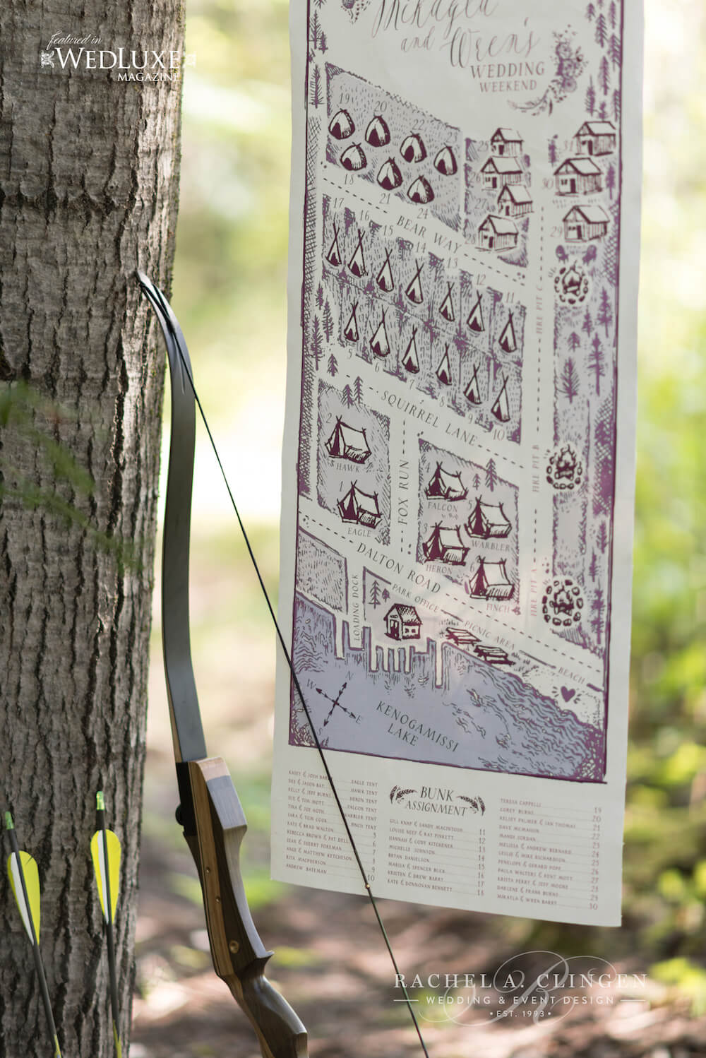 Glamping-Wedding-Bow-Arrow-Seating-Chart