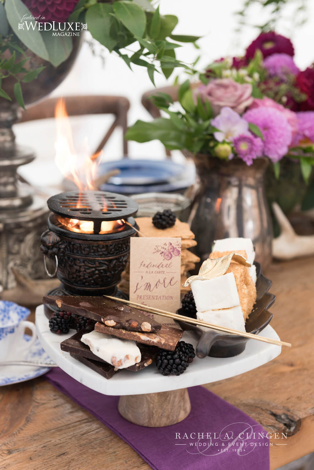 Glamping-Wedding-Ideas-Smores