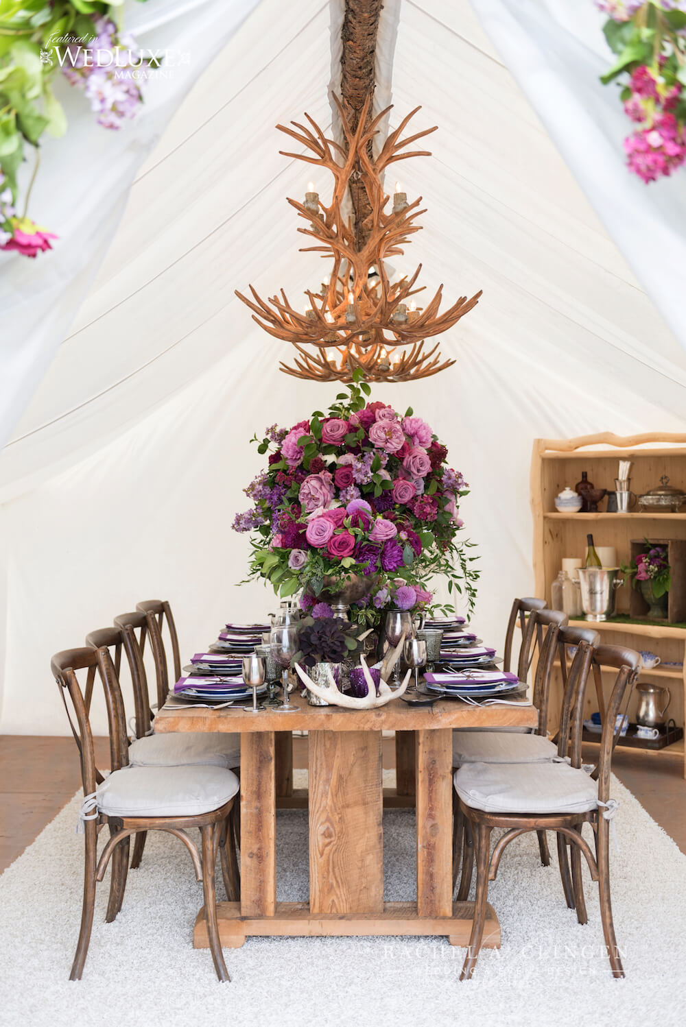 Purple-Wedding-Rustic-Decor-Toronto
