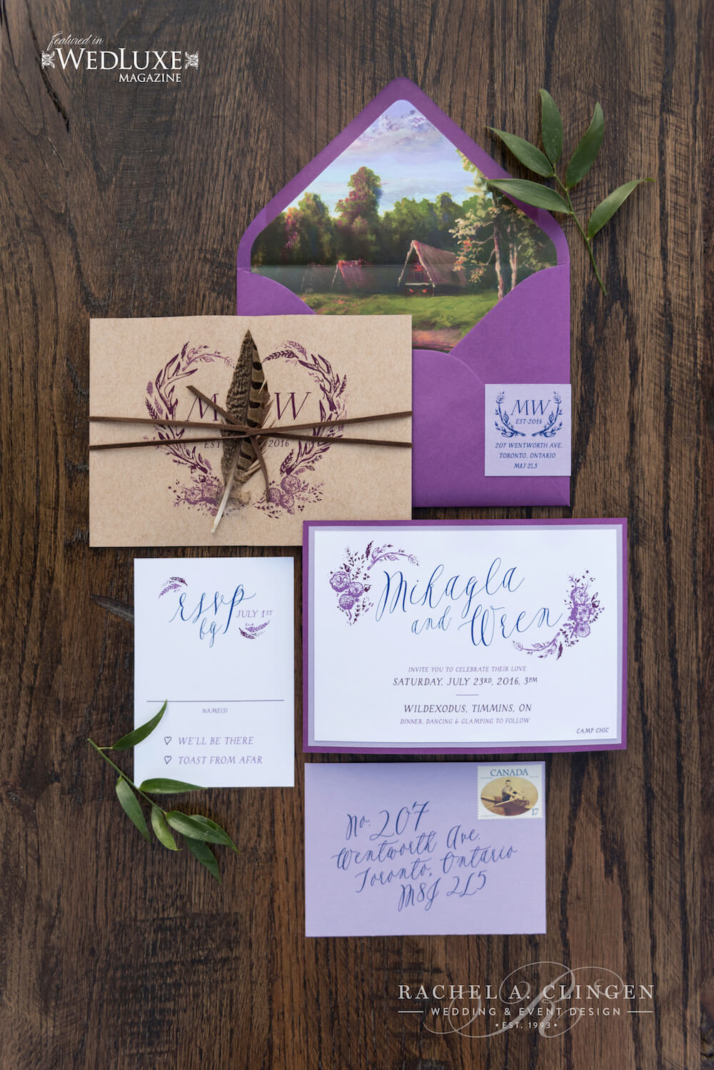 Rustic-Muskoka-Wedding-Stationery