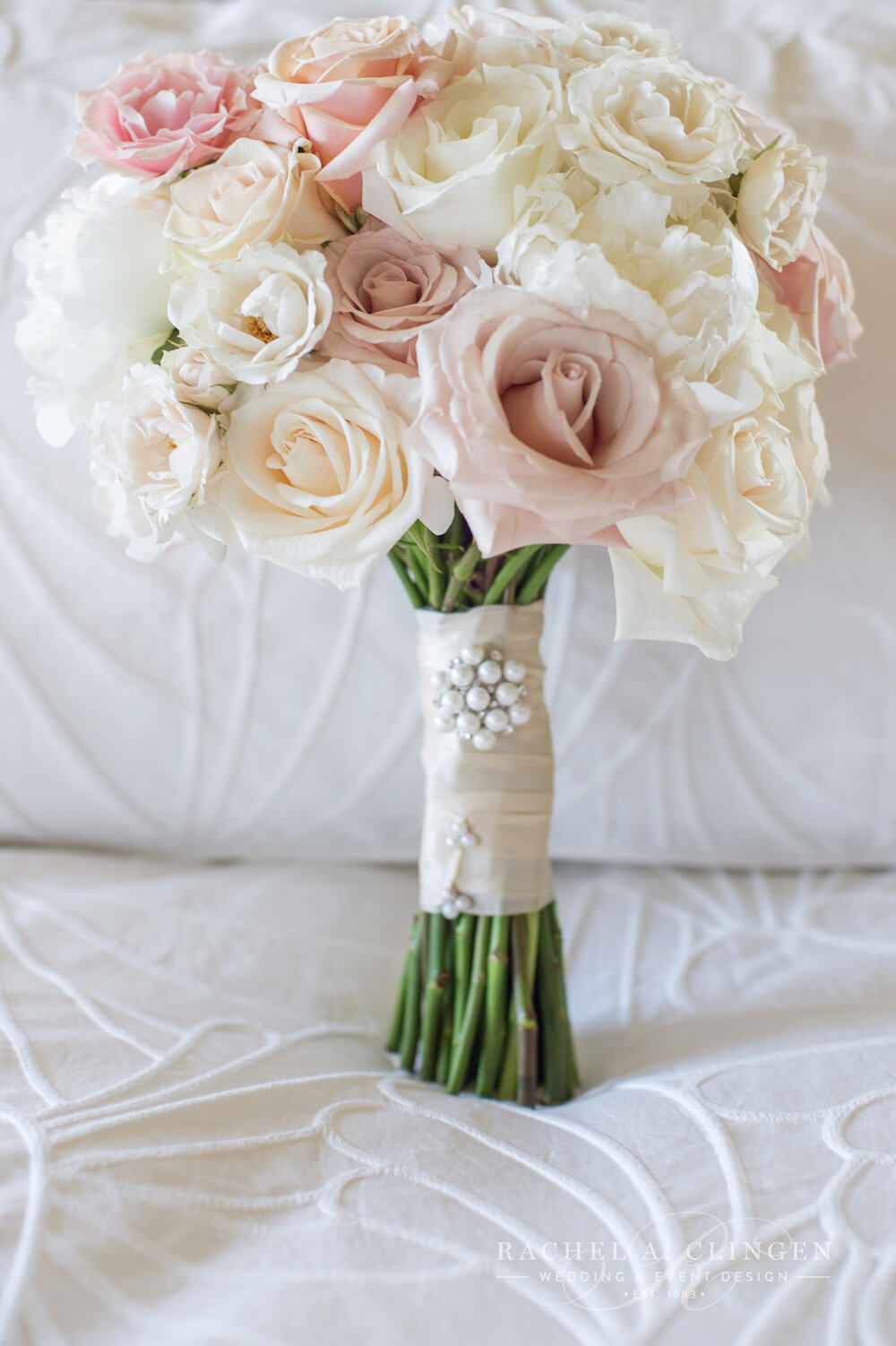 Bridal Flowers Blush Pink : Ivory pink blush wedding bouquet decor toronto