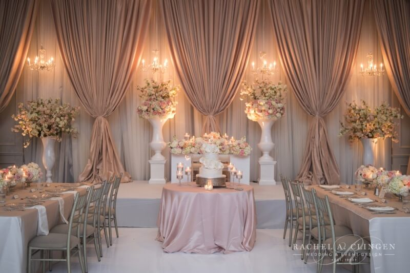 Pink Wedding Decor Flowers Toronto Wedding Decor Toronto Rachel A