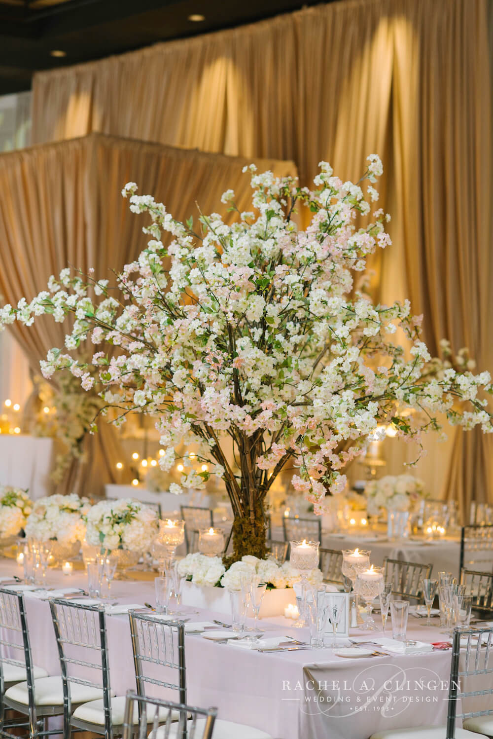 Victor And Matina S Cherry Blossom Wedding At Grand Luxe