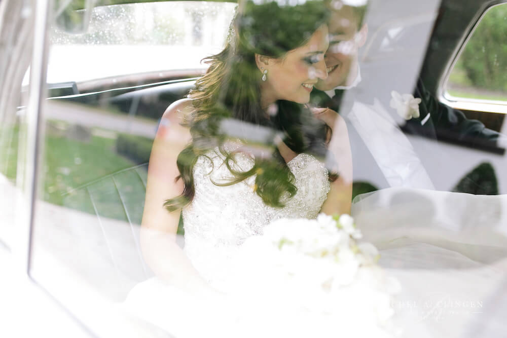chris-denise-car-wedding