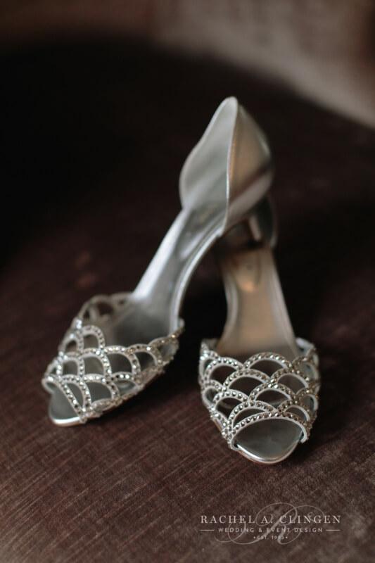 Wedding Shoes One King West Wedding