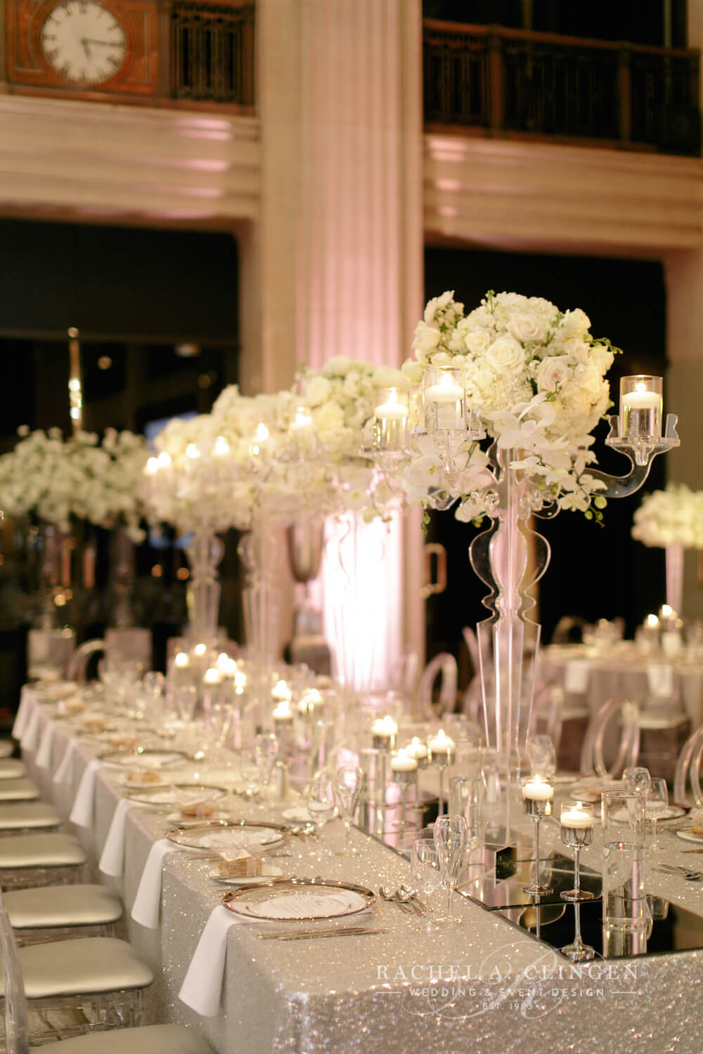white-wedding-decor-toronto-rachel-a-clingen-candelabras