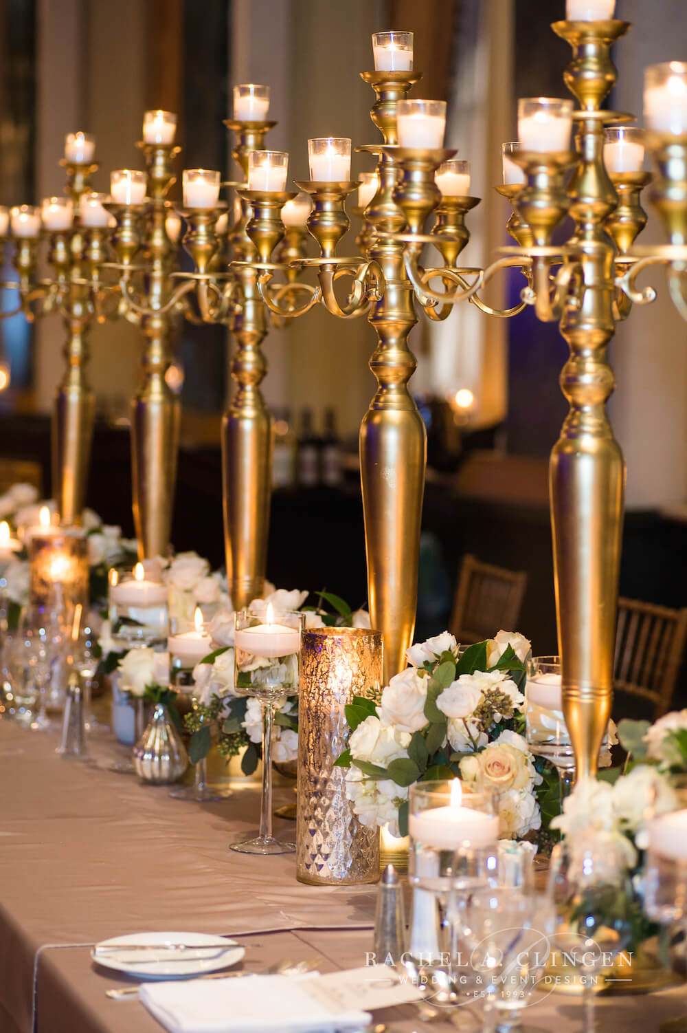 Gold candelabras toronto wedding decor wedding decor toronto gold candelabras toronto wedding decor junglespirit