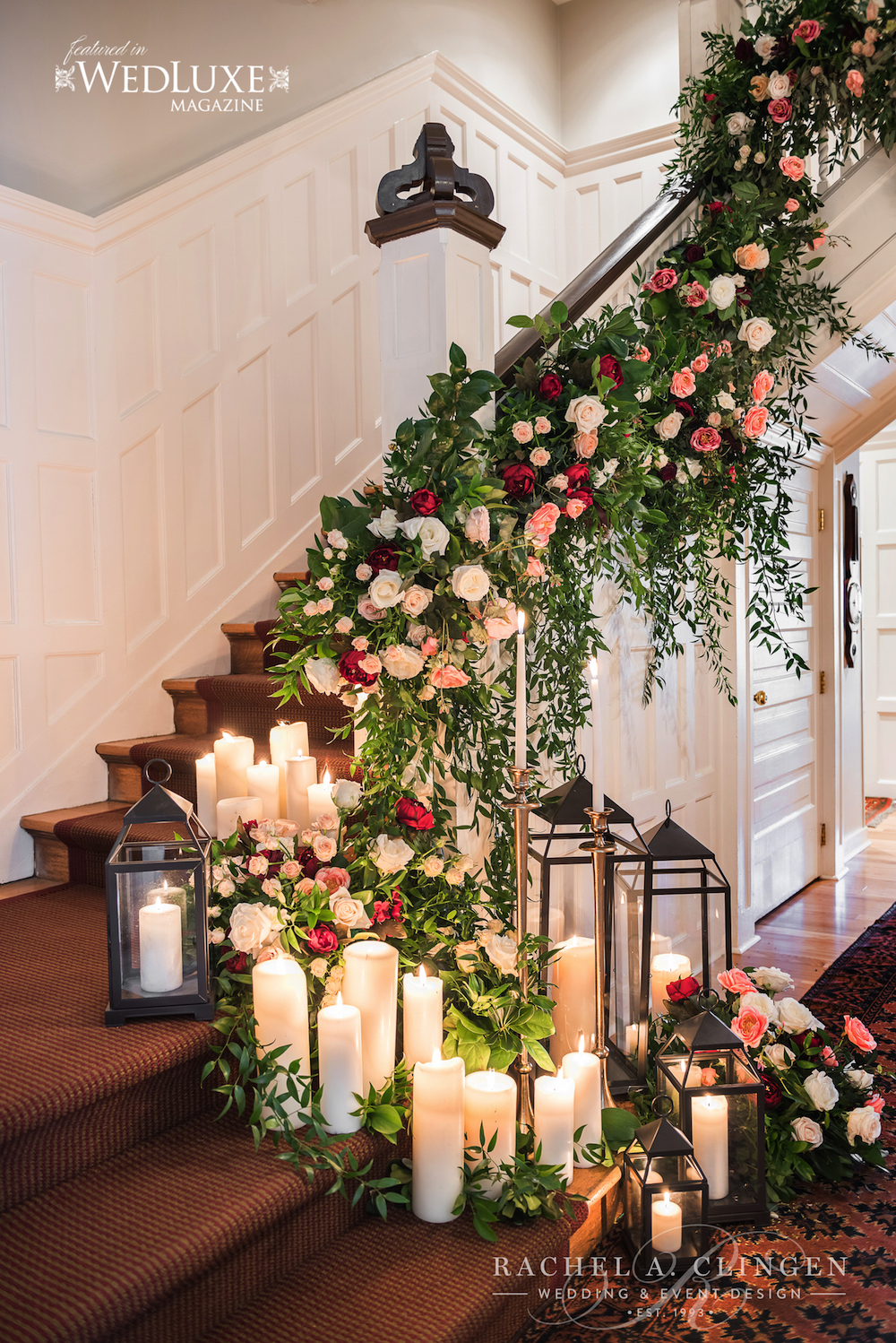 Blog wedding decor toronto rachel a clingen wedding for Floral decorations for home