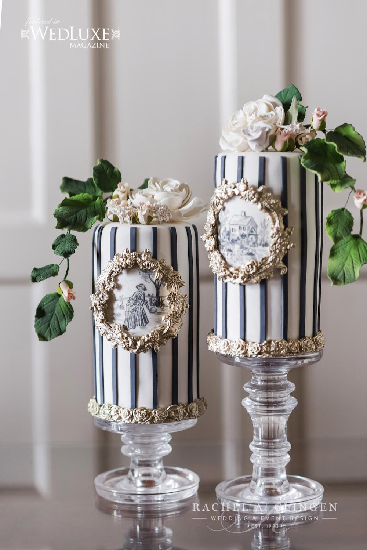 mini-wedding-cakes-toille-wedding