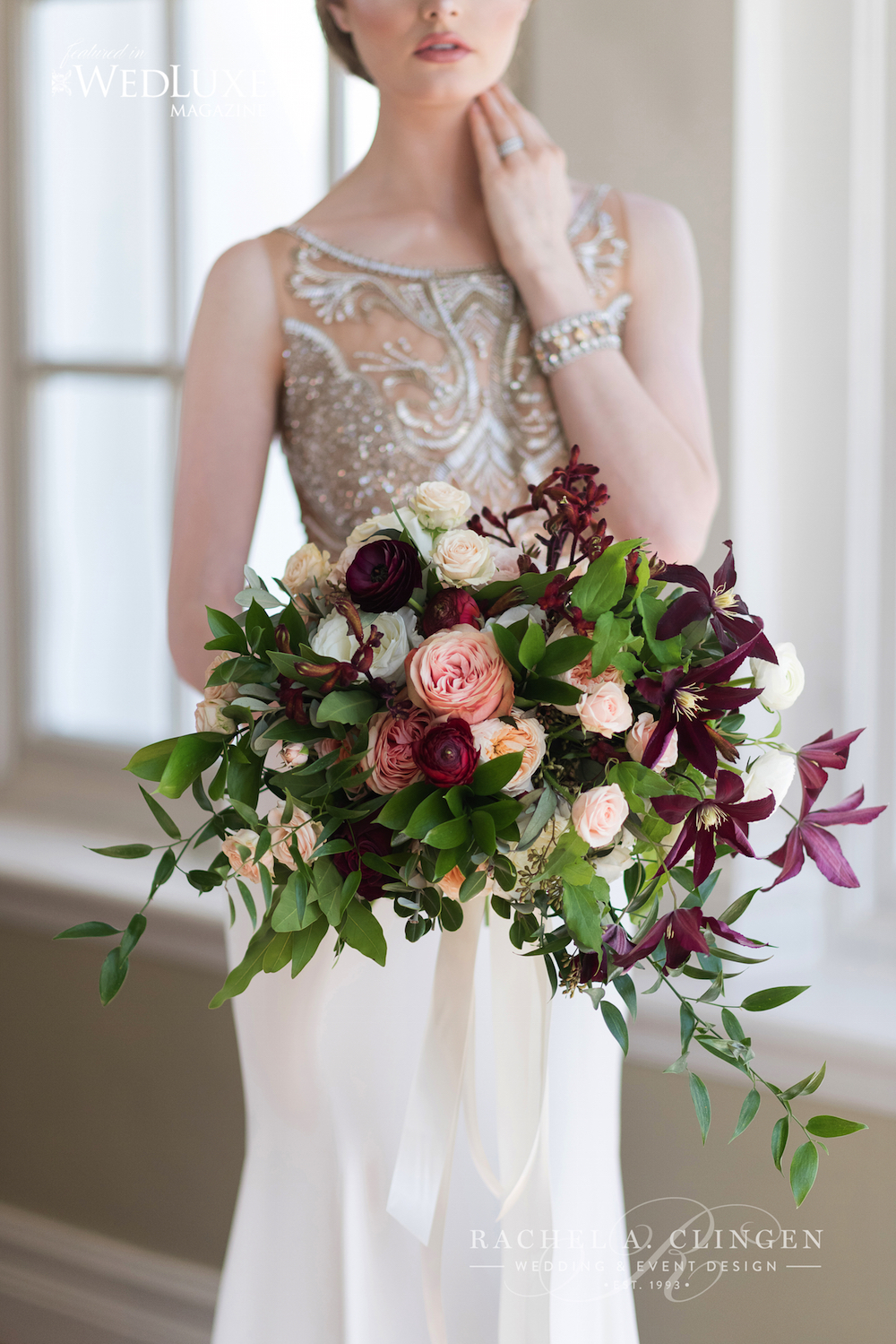 Rachel A. Clingen Wedding Bouquets Toronto Langdon Hall