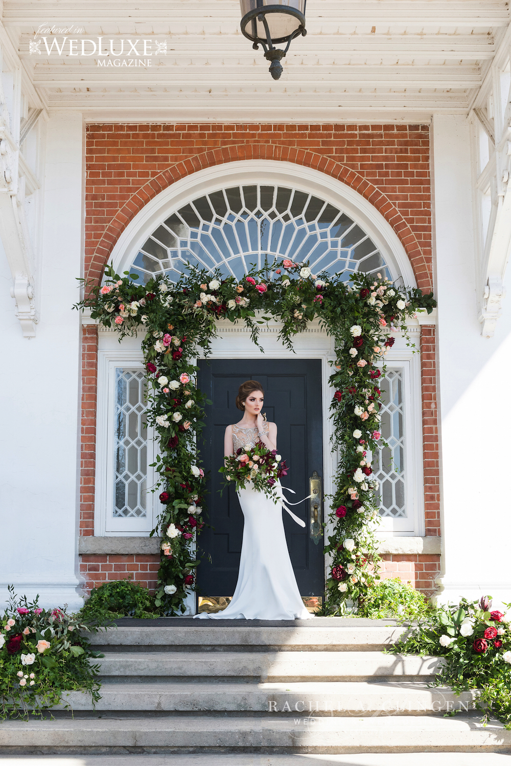 Wedding at Langdon Hall by Rachel A. Clingen