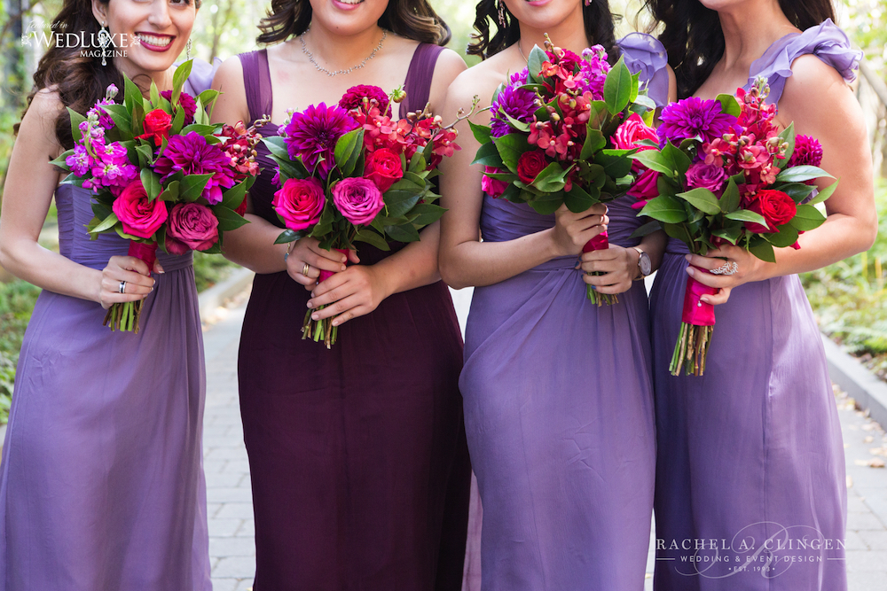 red-fushia-wedding-bouquets
