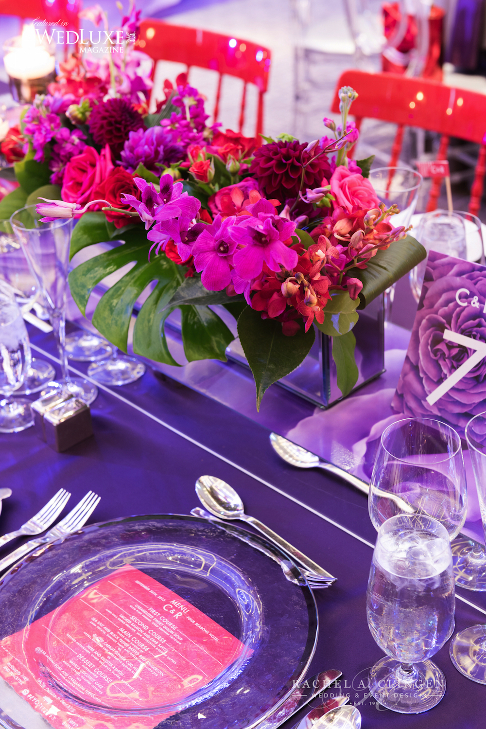 red-purple-wedding-decor-toronto - Wedding Decor Toronto Rachel A ...