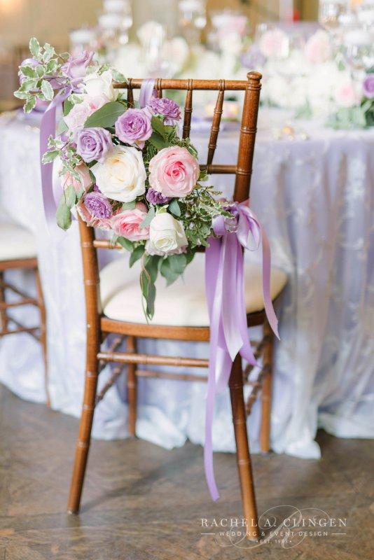 Chair Flowers Wedding Wedding Decor Toronto Rachel A