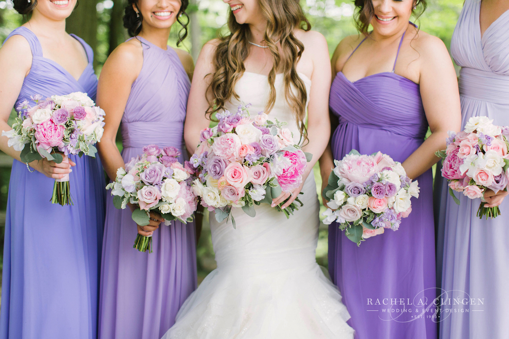 peach-pink-lavender-wedding-flowers-bouquets