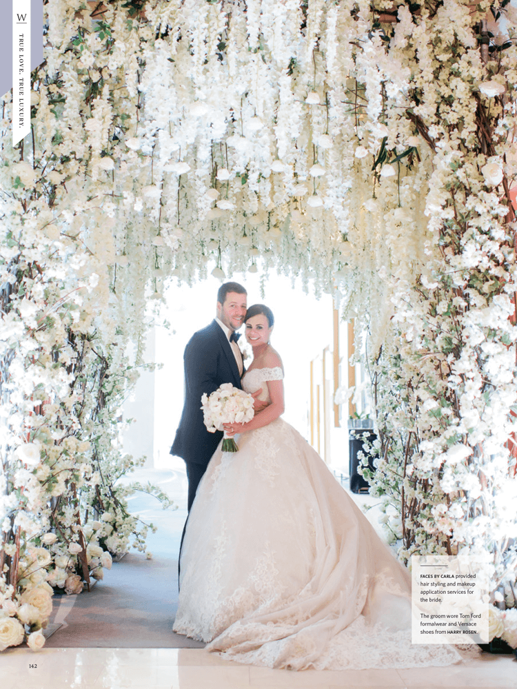 A Real Wedding from WedLuxe Winter/Summer 2017