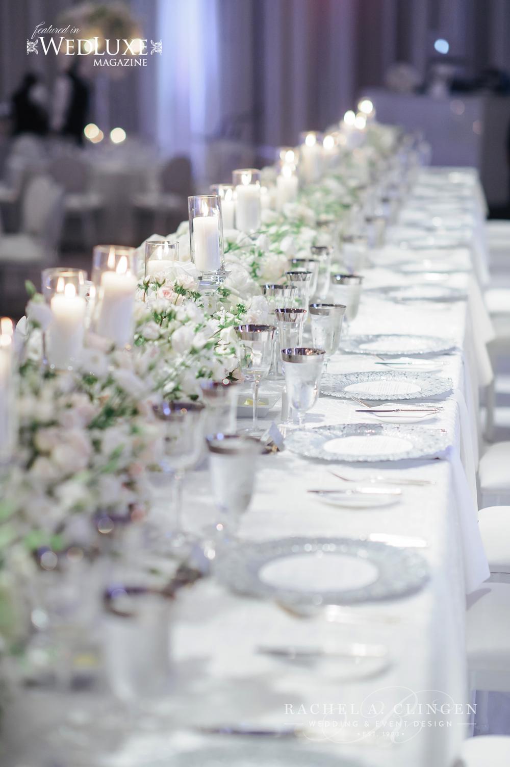all-white-wedding-headtable - Wedding Decor Toronto Rachel A ...