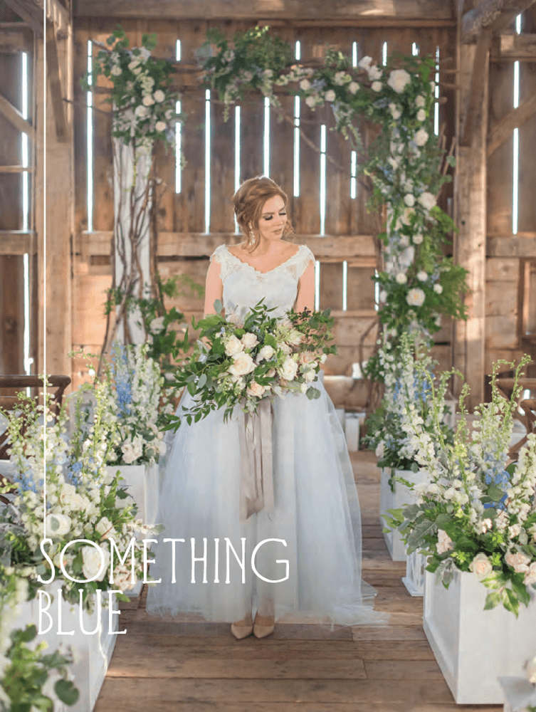 Elegant Wedding Winter/Spring 2017 - Something Blue