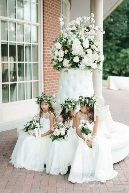 Flower Girl Baskets Toronto : Flower girls crowns baskets wedding decor toronto rachel