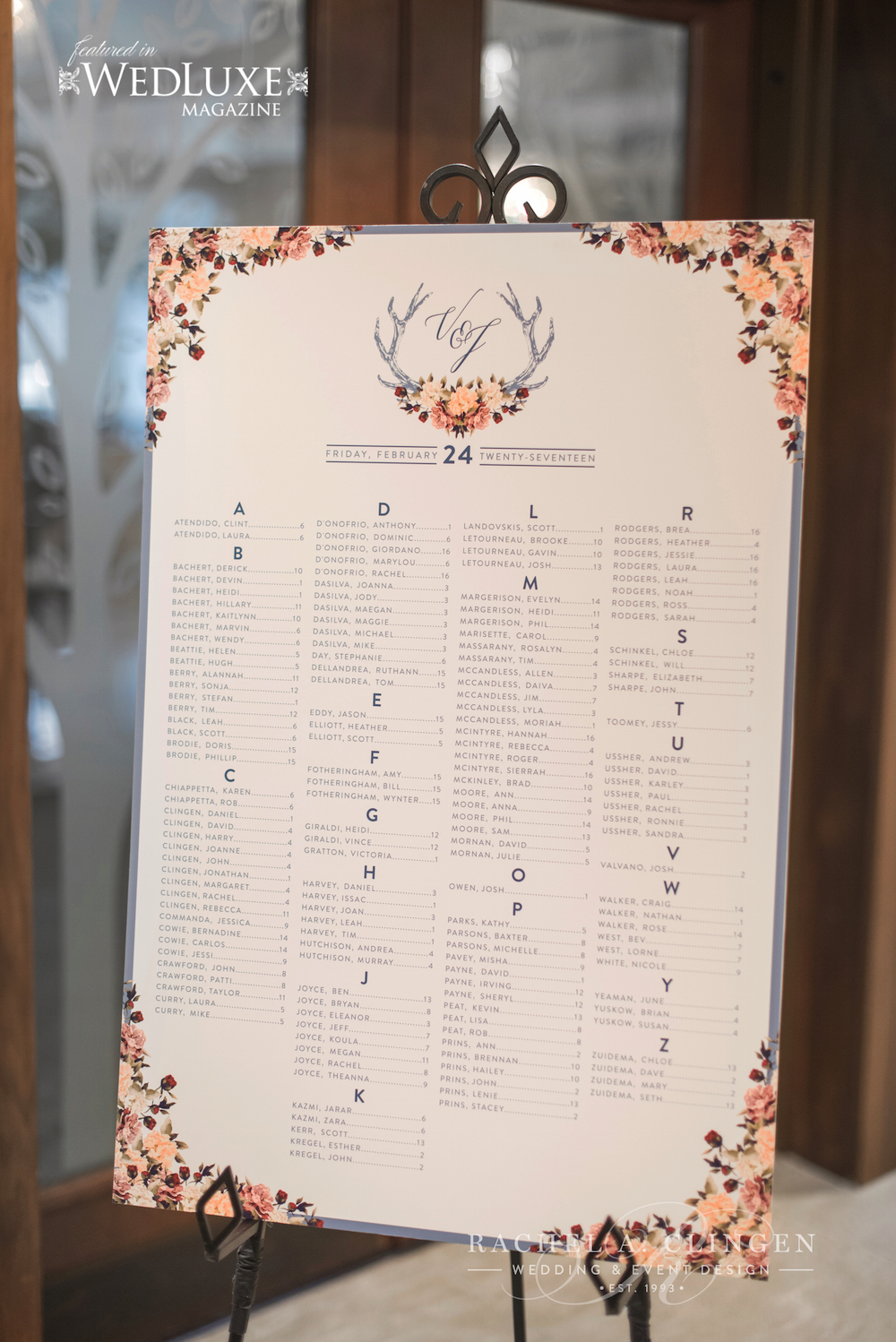 seating-chart-ideas - Wedding Decor Toronto Rachel A. Clingen ...