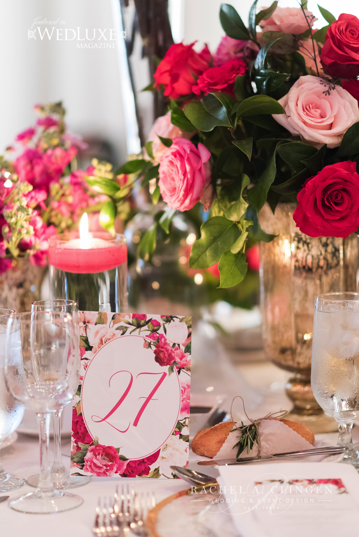 toronto wedding decor pink 1