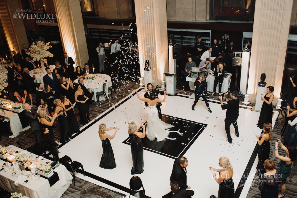 black and white wedding archives wedding decor toronto rachel a