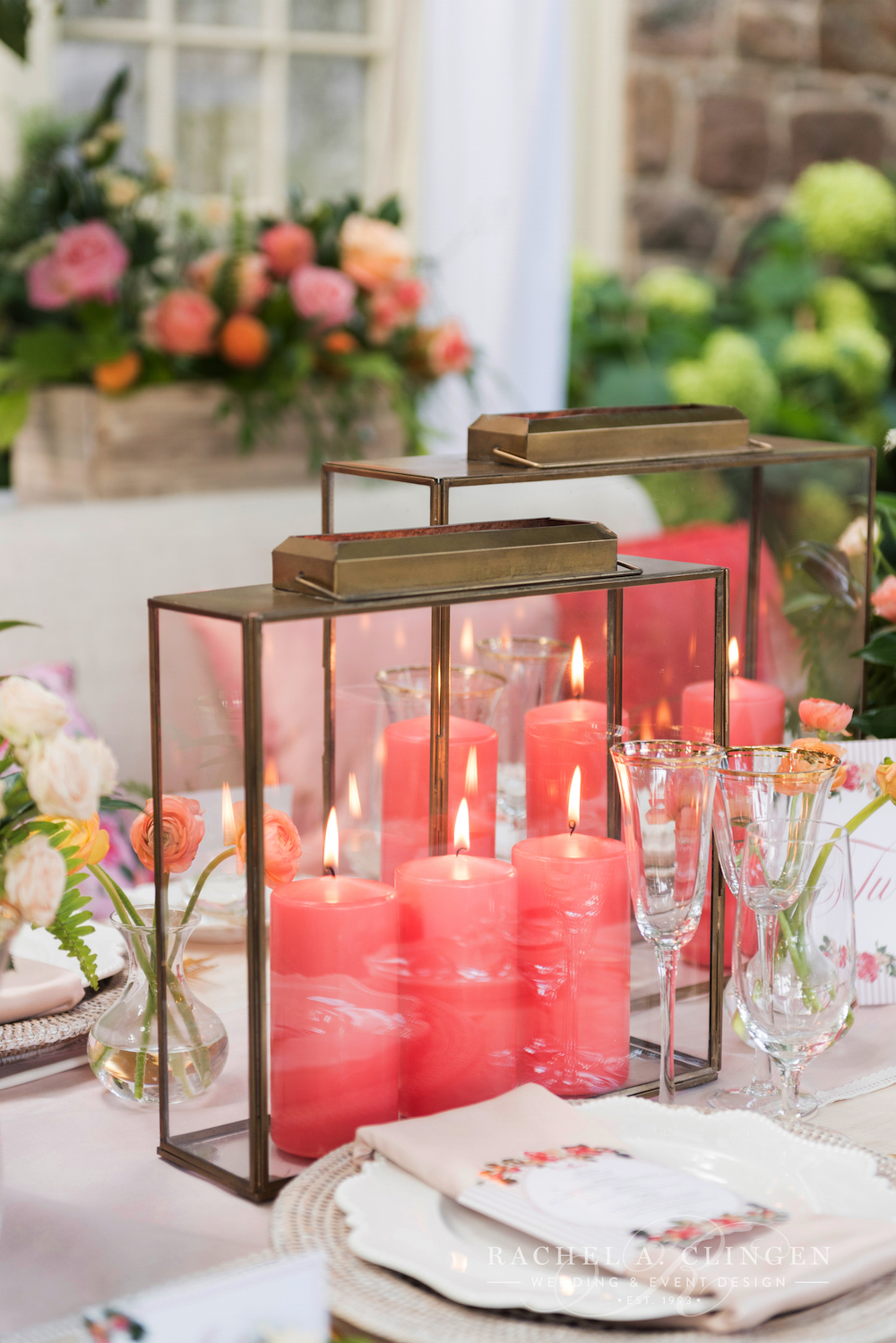 Peach Coral Wedding Decor Wedding Decor Toronto Rachel A Clingen
