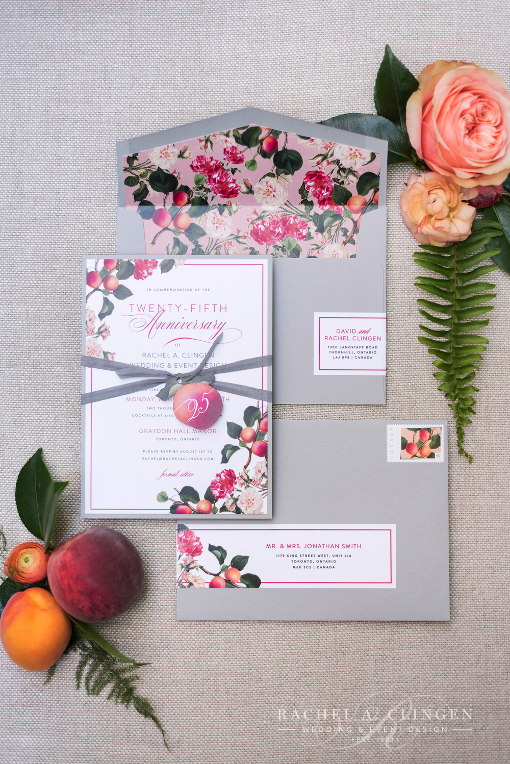peach-wedding-invitations-toronto - Wedding Decor Toronto Rachel A ...