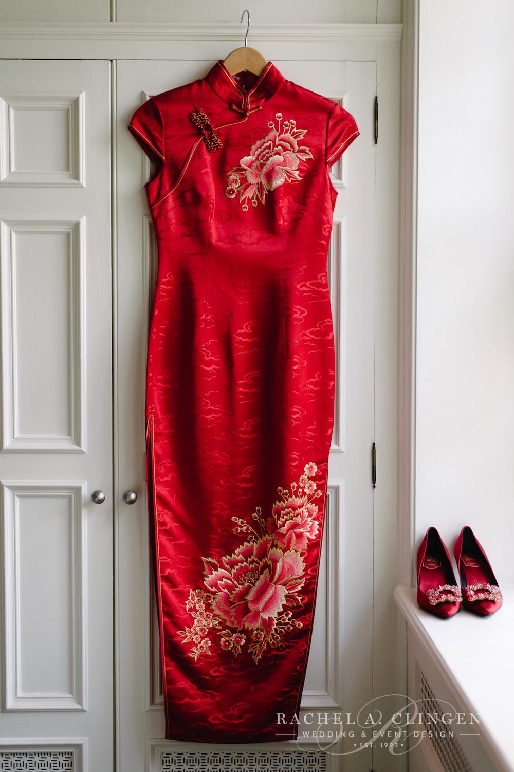 Red Dress Chinese Wedding Wedding Decor Toronto Rachel A Clingen