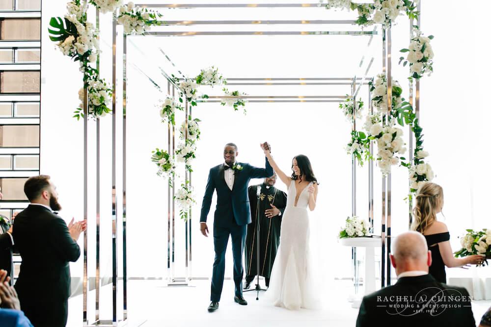 Floor Decor Wayne >> Wayne And Crystal Simmonds Modern Wedding At Four Seasons ...