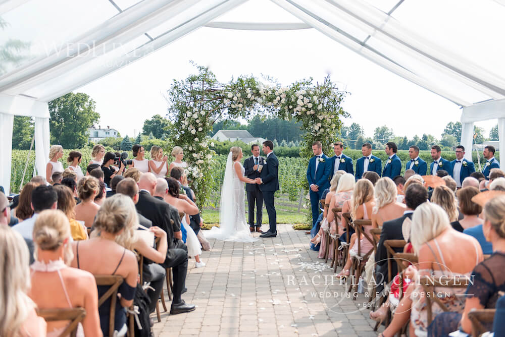 John Tavares Tent Weddings