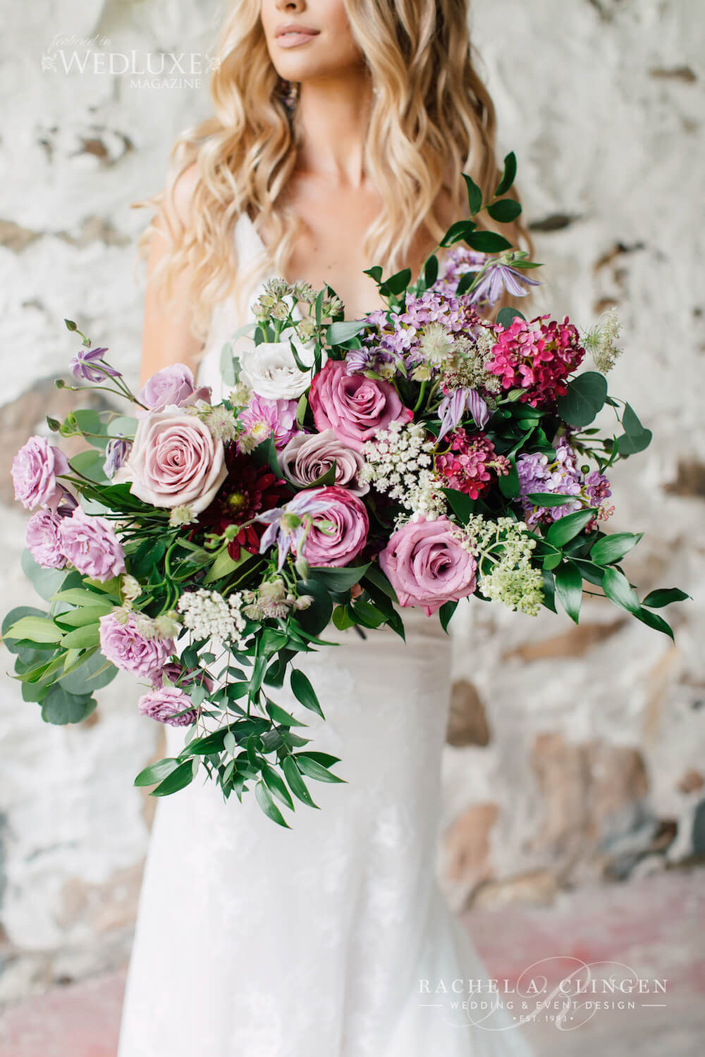 Lilac Mauve Wedding Bouquet 3