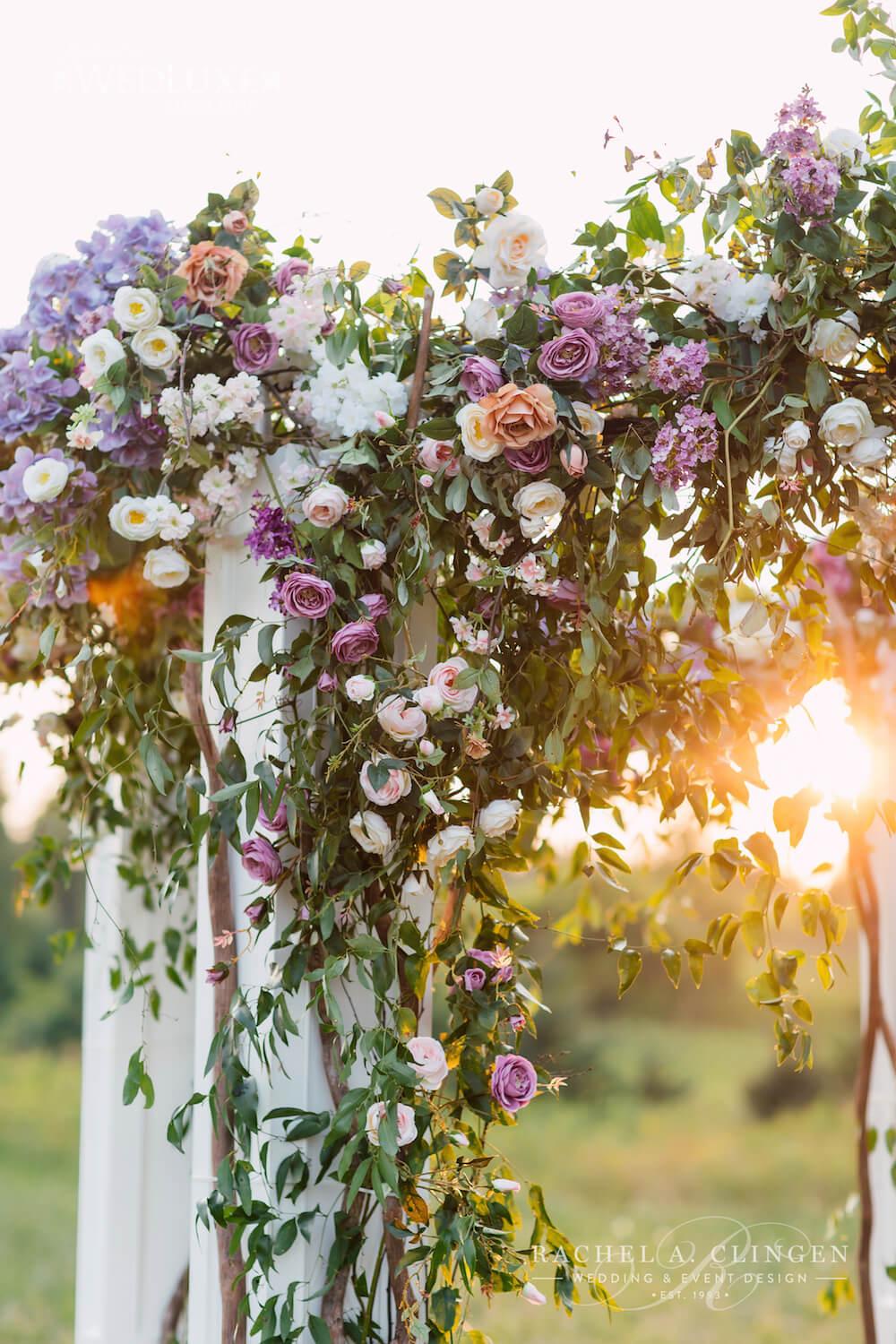 Luxury Country Wedding Flowers