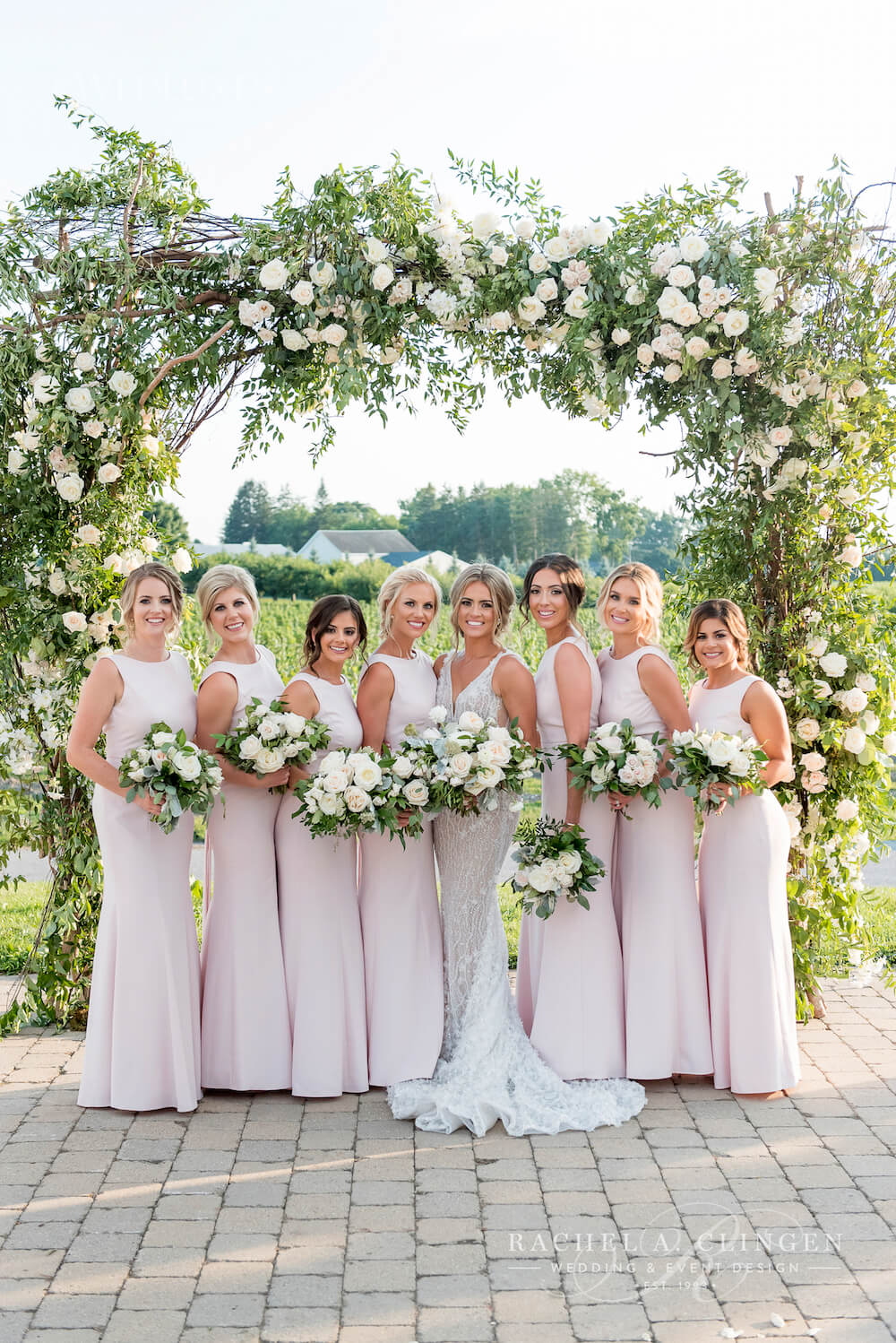 Luxury Niagara Wedding Flowers Rachel A Clingen