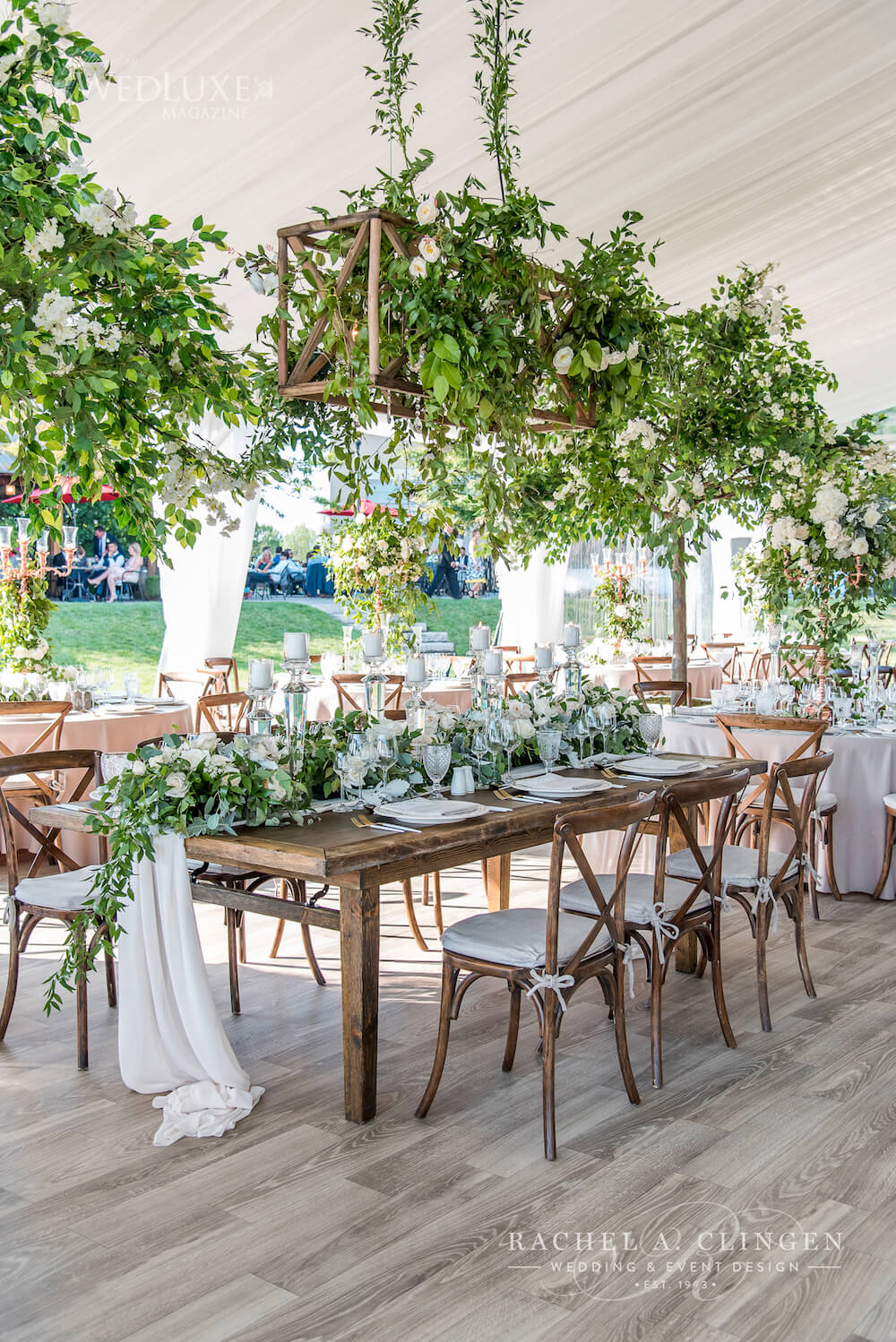 Luxury Tent Wedding Rachel A Clingen