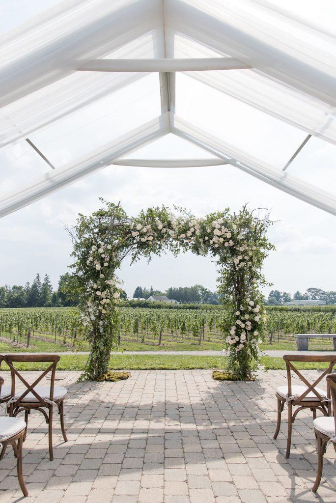 Niagara Vineyard Wedding Flowers