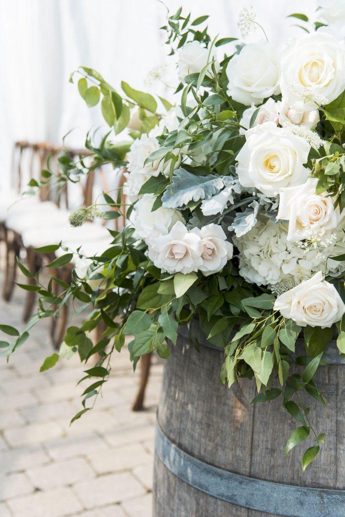 Winery Wedding Flowers