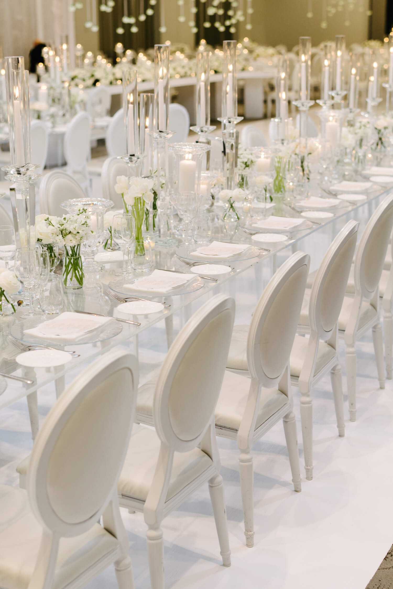 all white modern wedding 1