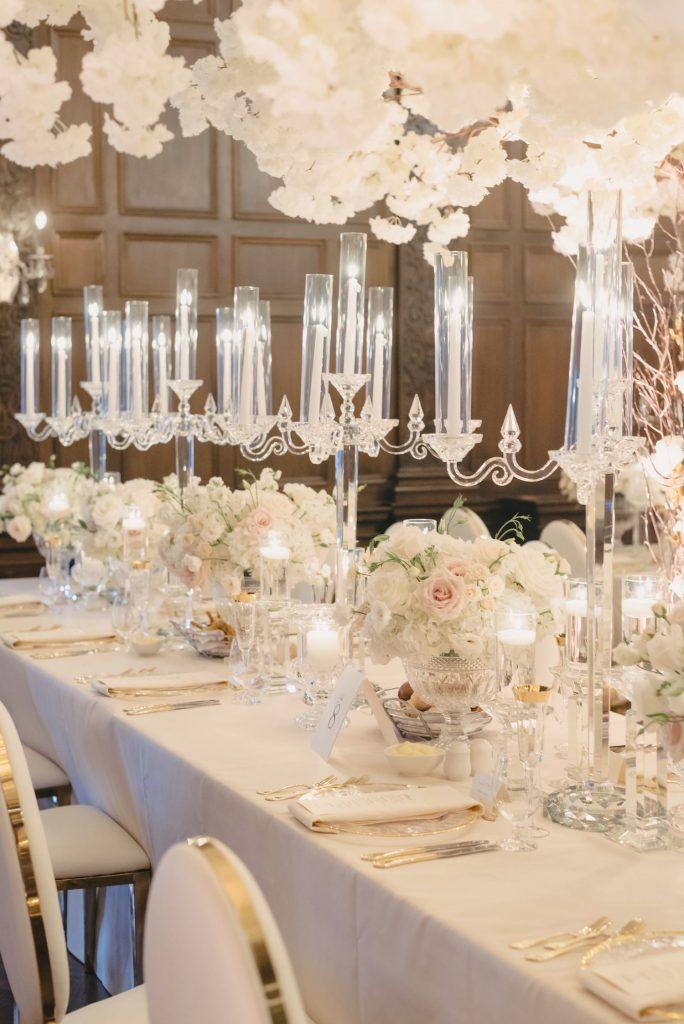 all white wedding casa loma