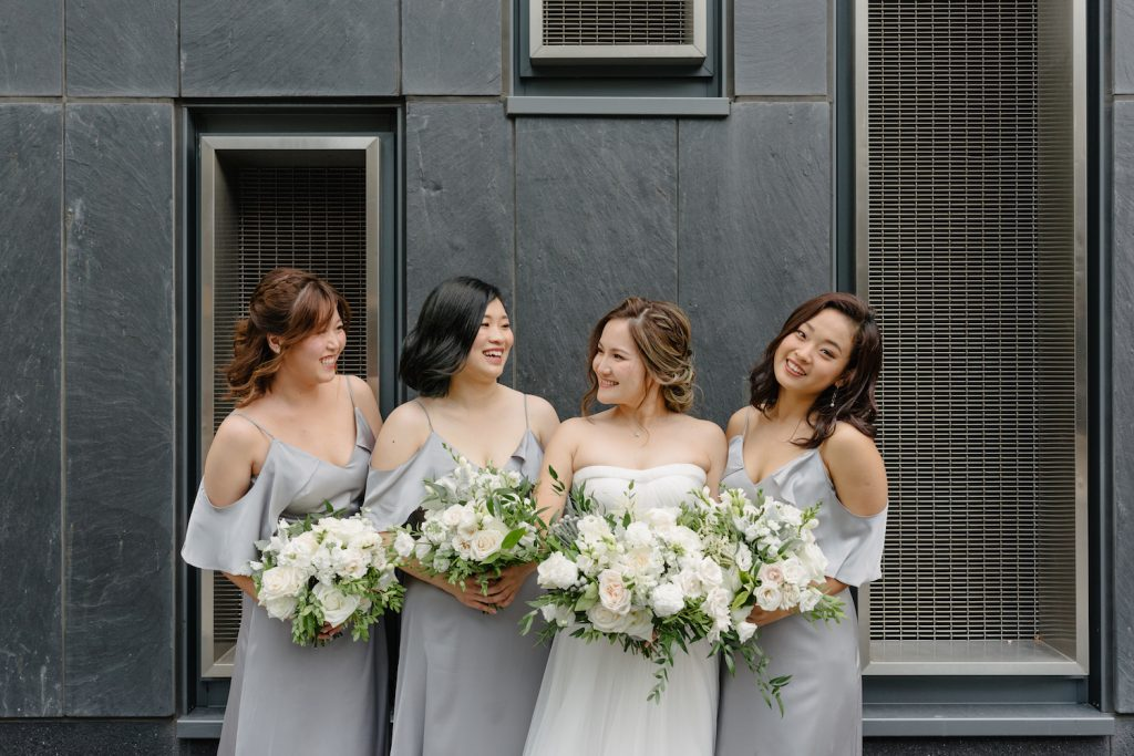 alma brides maids four seasons wedding