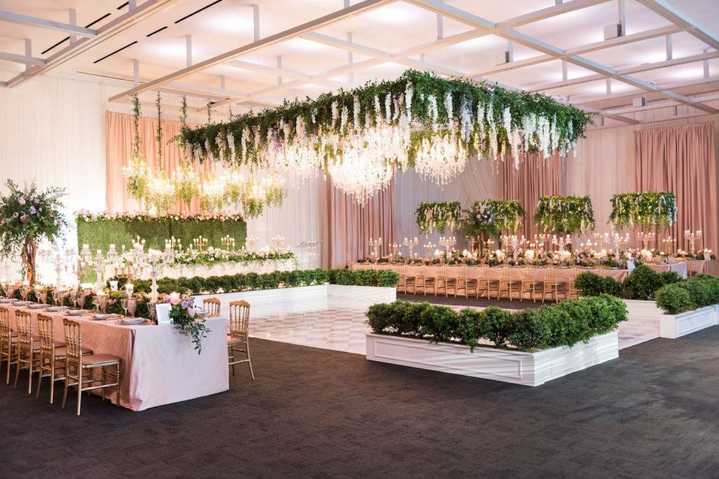 art gallery ontario wedding flowers rachel clingen