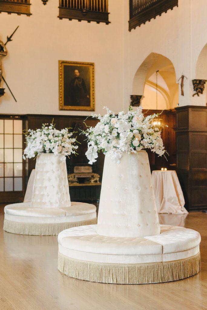 casa loma lounge area wedding