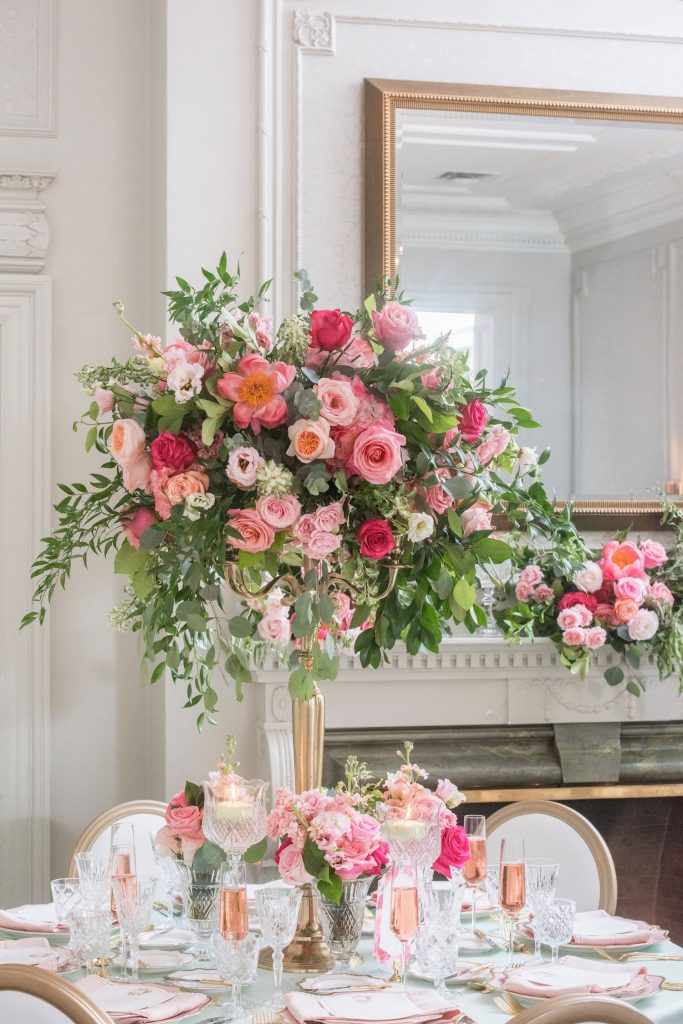 coral pink wedding rachel a clingen flowers
